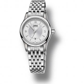 Ladies Classic Date Automatic Steel Bracelet Watch 01 561 7650 4031-07 8 14 61