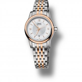 Ladies Classic Date Bi-Colour Bracelet Watch 01 561 7650 4331-07 8 14 63