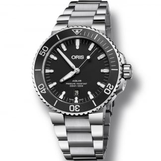 Men's Aquis Date Automatic Diver's Watch