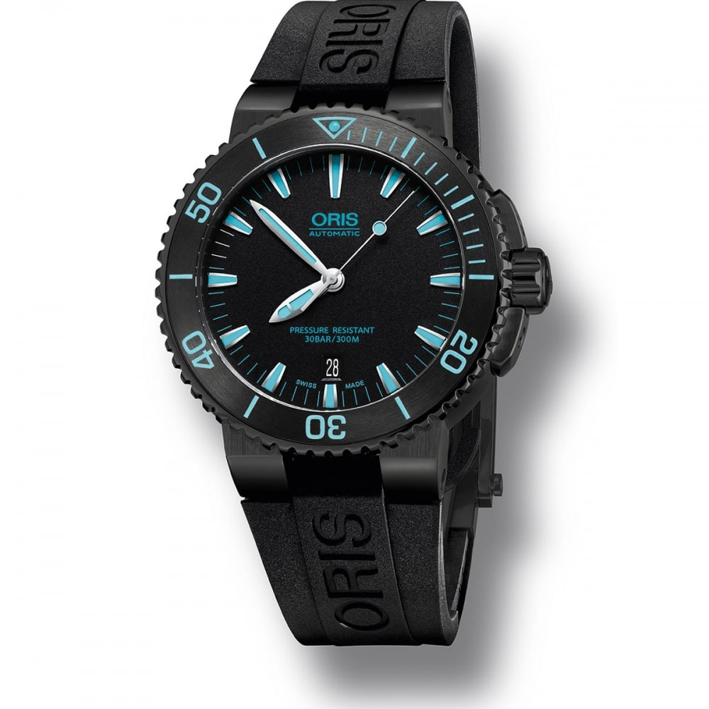 rubber blue watch automatic black s dial watches mens seiko divers deep men
