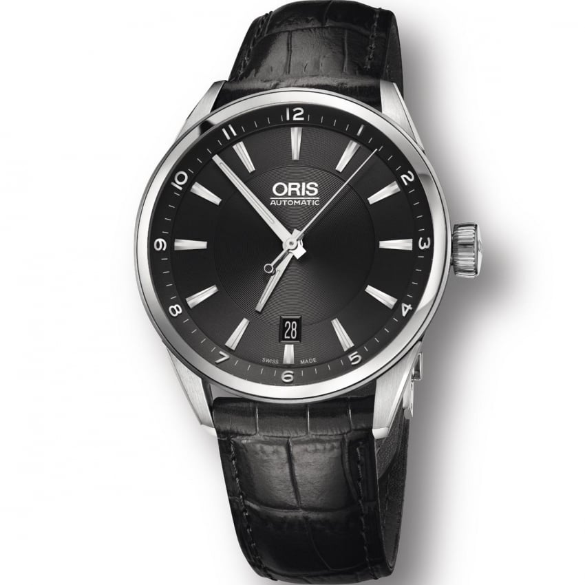 ORIS Men's Artix Date 39mm Black Dial Automatic Watch 01 733 7713 4034-07 5 19 81FC