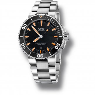Men's Automatic Aquis 30ATM Ceramic Bezel Watch 01 733 7653 4159 07 8 26 01PEB