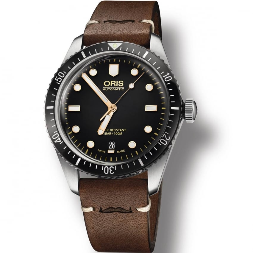 ORIS Men's Divers Sixty-Five 'Movember' Special Edition Watch 01 733 7707 4084-Set LS