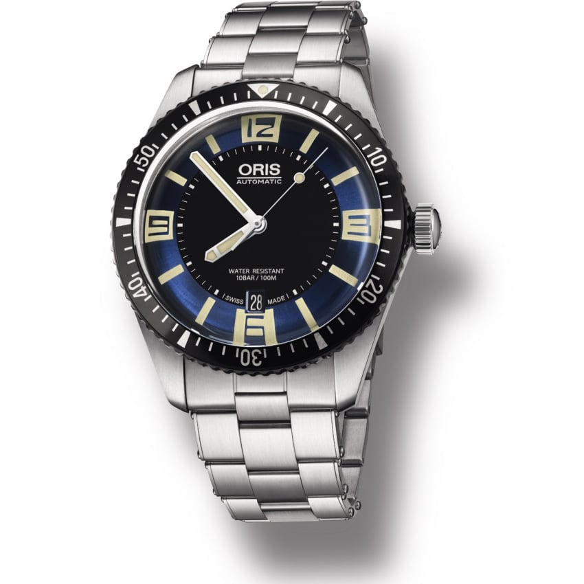 ORIS Men's Diver's Sixty-Five Stainless Steel Automatic Watch 01 733 7707 4035-07 8 20 18