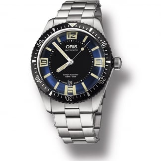 Men's Diver's Sixty-Five Stainless Steel Automatic Watch 01 733 7707 4035-07 8 20 18