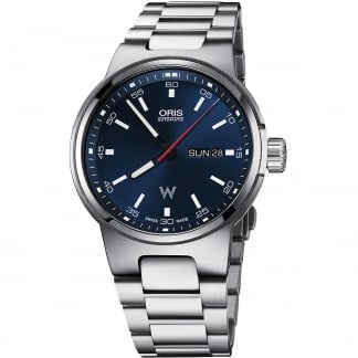 Men's Williams Day-Date Blue Dial Automatic Watch