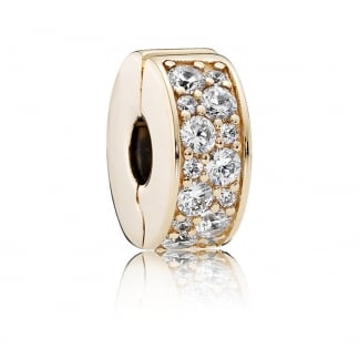 14ct Gold Shining Elegance Spacer Clip