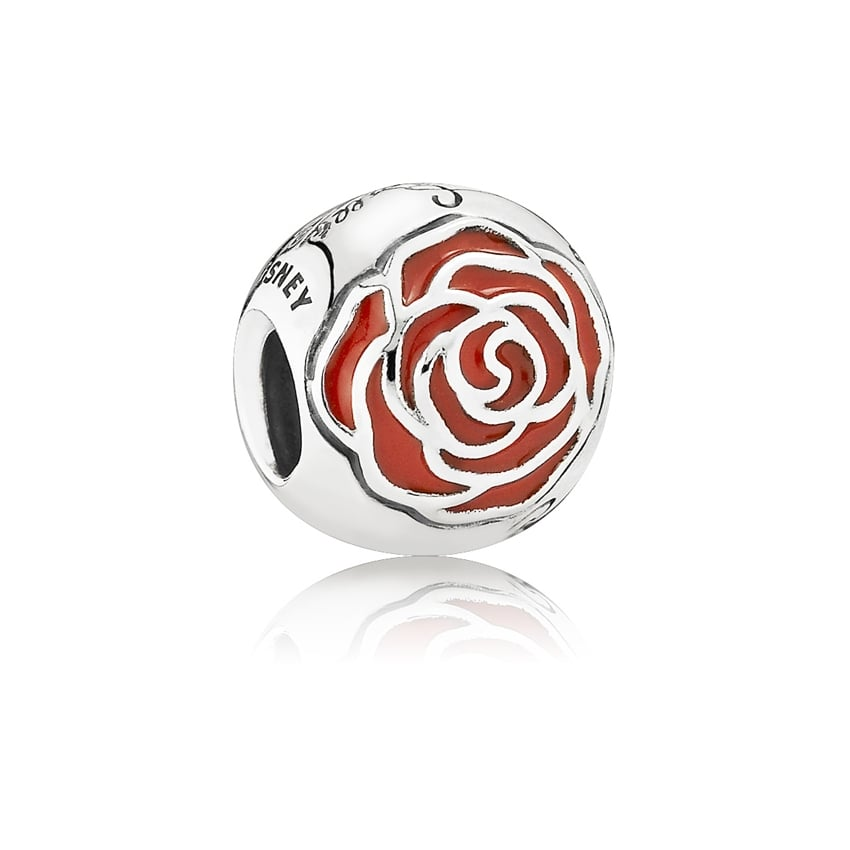 PANDORA Disney, Belle's Enchanted Rose Charm 791575EN09
