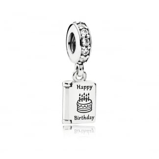 Birthday Wishes Dangly Charm