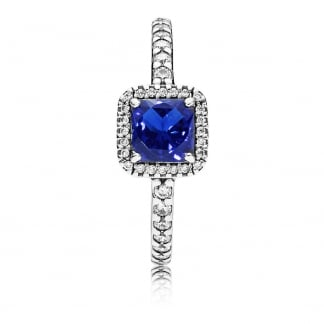 Blue Timeless Elegance Ring
