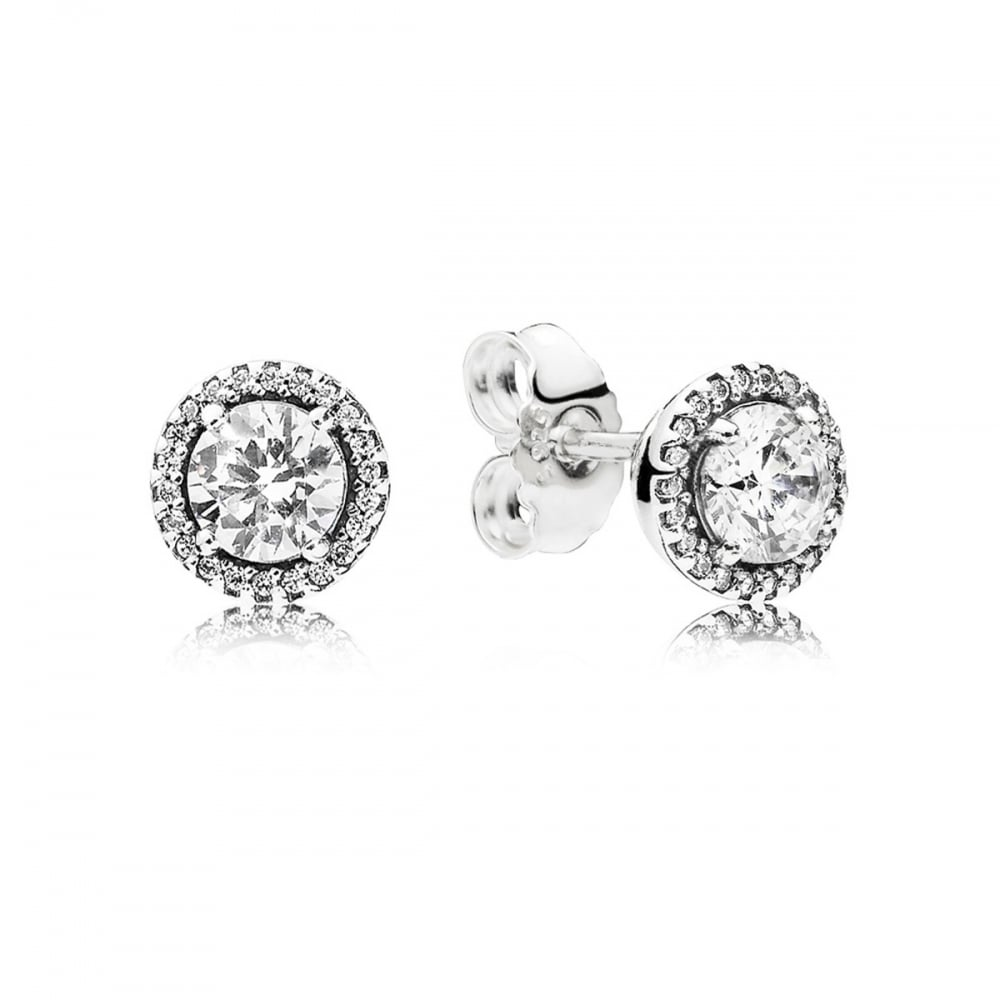 102c19e11 Pandora Classic Elegance Stud Earrings - Jewellery from Francis ...
