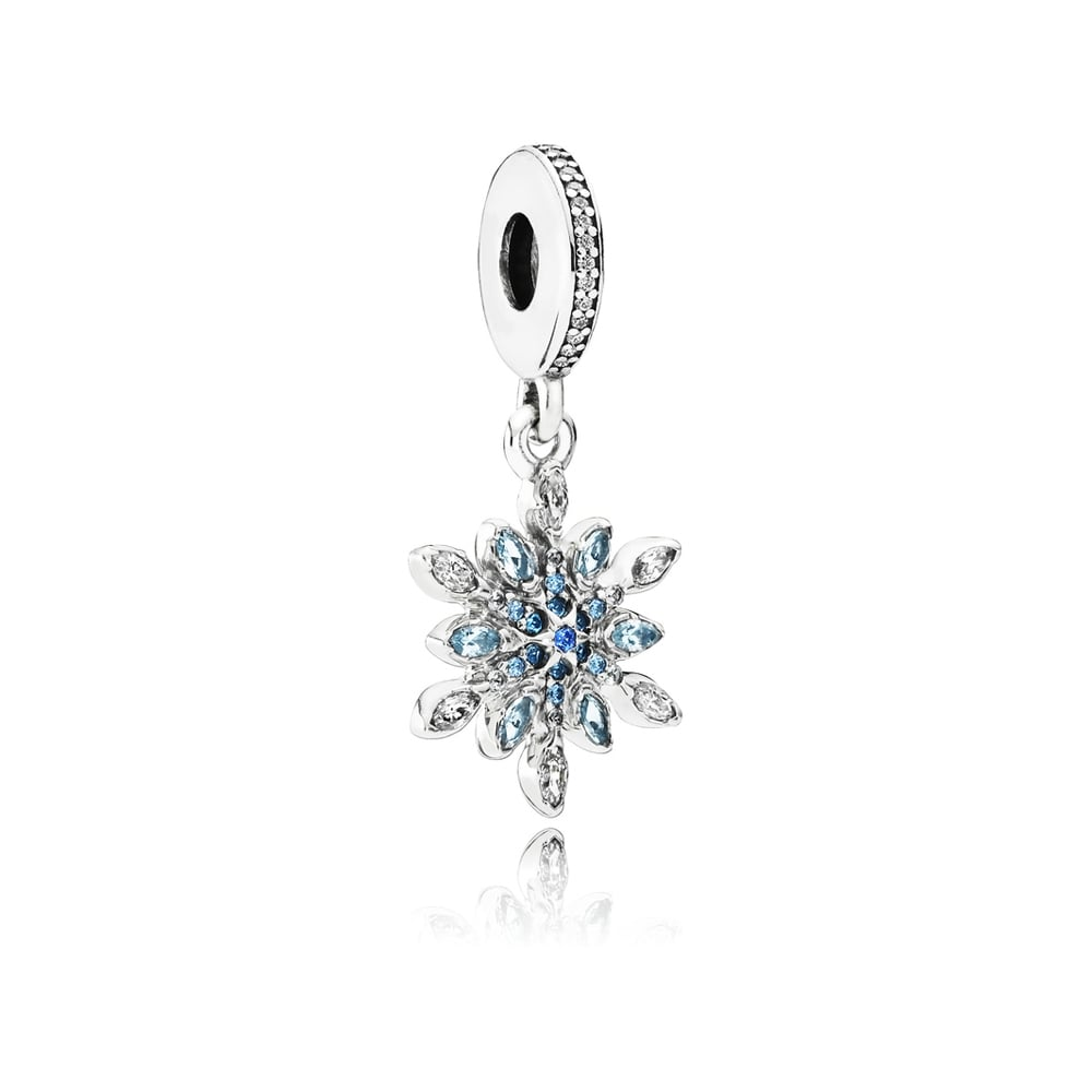 3fb008ce3 PANDORA Crystallised Snowflake Dangly Charm - Jewellery from Francis ...