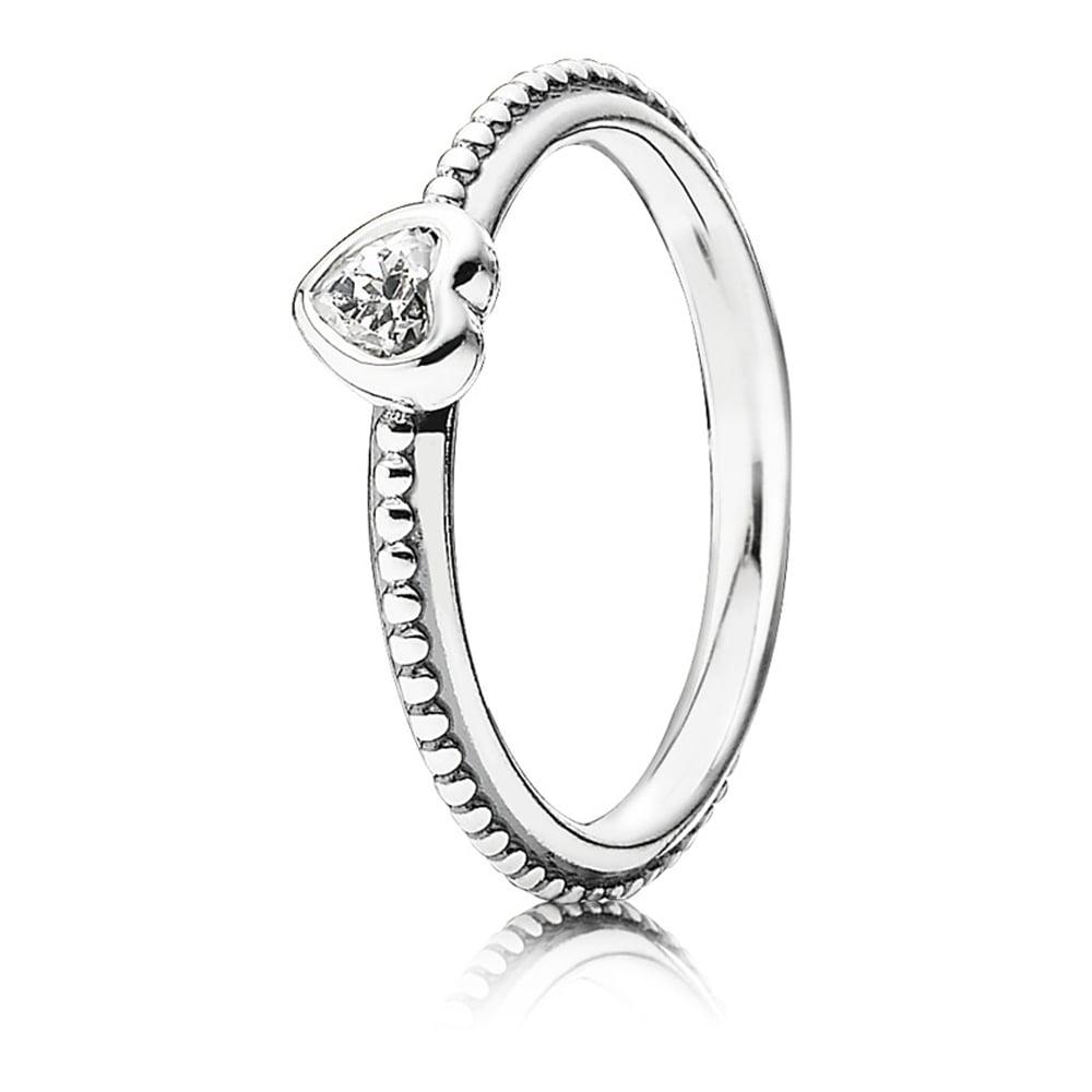 498702cc2 Pandora CZ Heart Ring - Jewellery from Francis & Gaye Jewellers UK