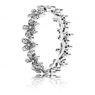 Dazzling Daisy Band Ring