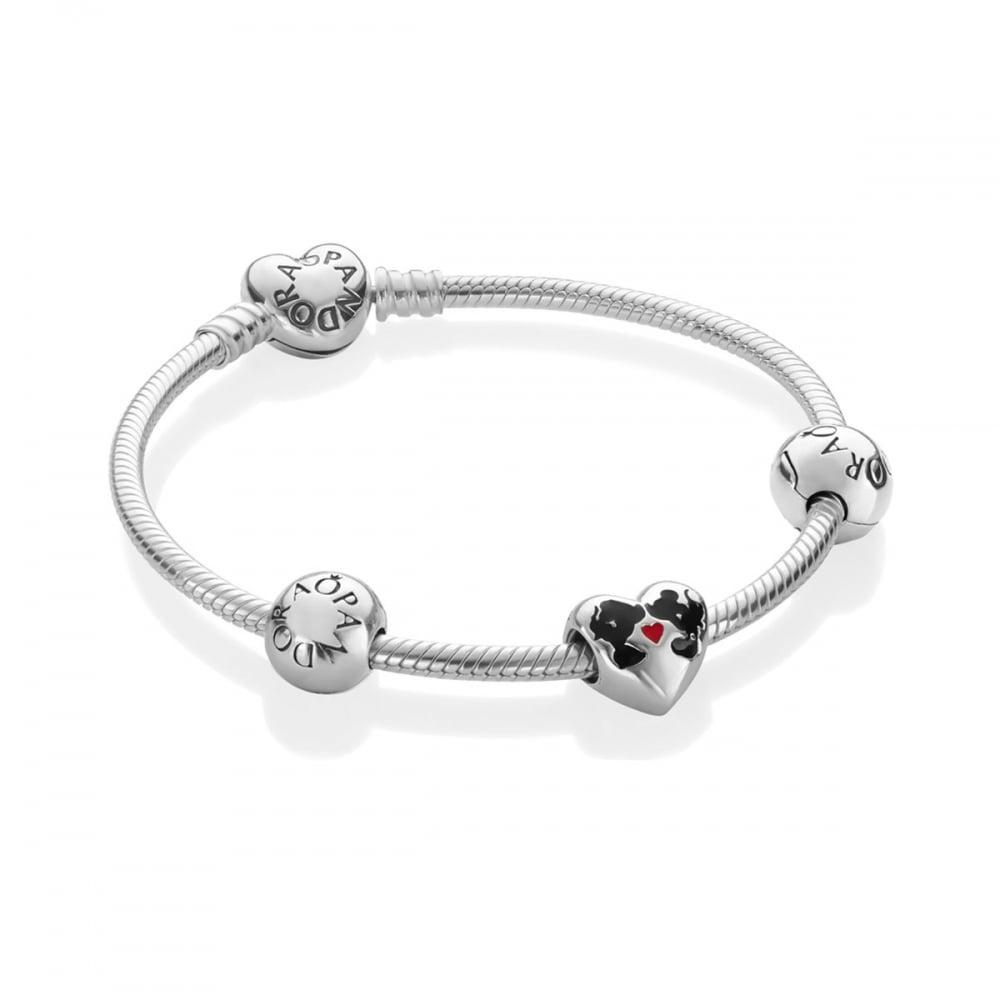 3f799e00a Pandora Disney, Minnie & Mickey Kiss Bracelet Product Code: B800807