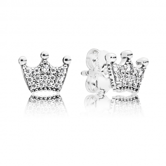 Enchanted Crowns Stud Earrings