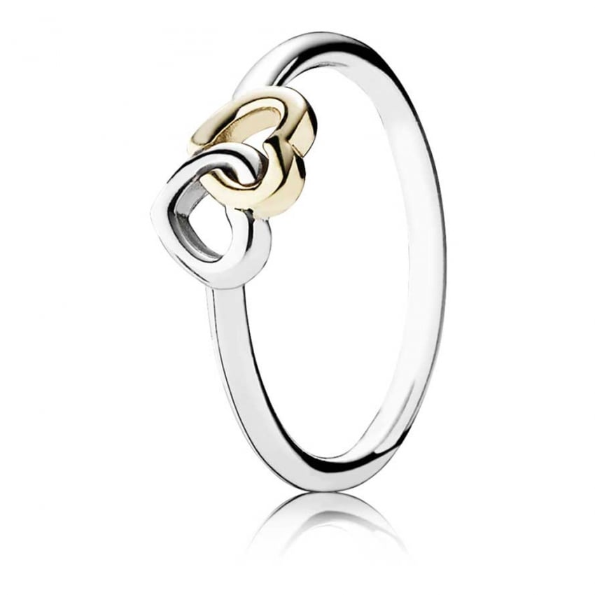 PANDORA Entwined Hearts Ring 190927
