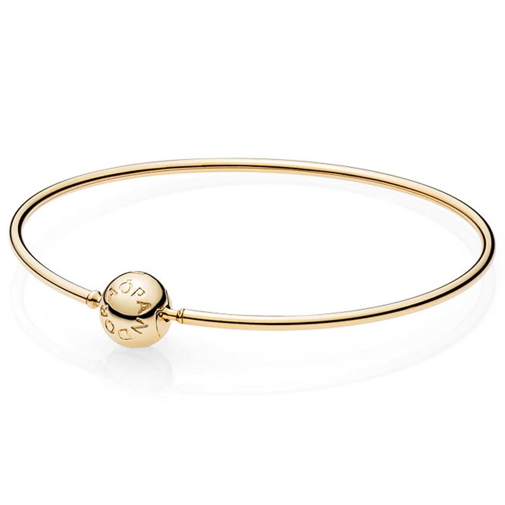 0738072ba Pandora ESSENCE 14ct Gold Bangle - Jewellery from Francis & Gaye ...
