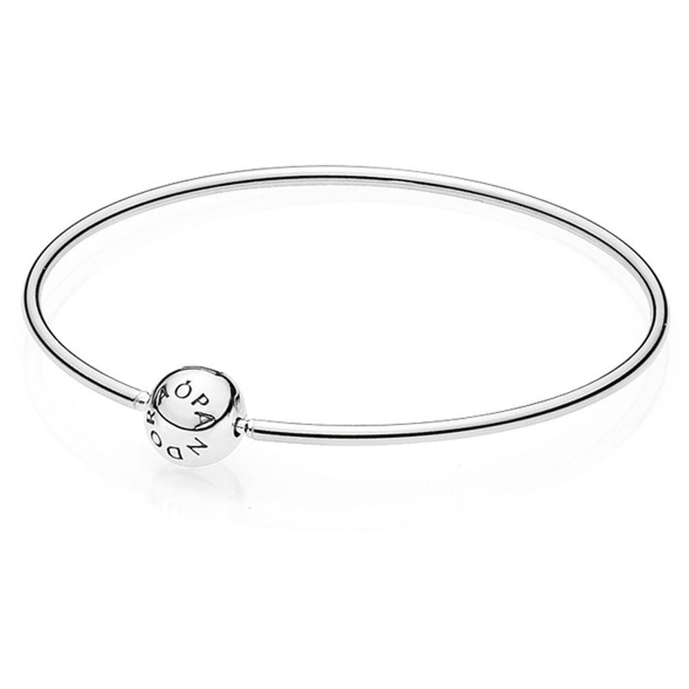 87c196482 Pandora ESSENCE Silver Bangle - Jewellery from Francis & Gaye ...