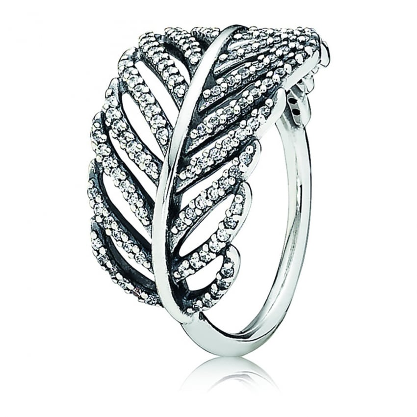 PANDORA Feather Ring 190886CZ