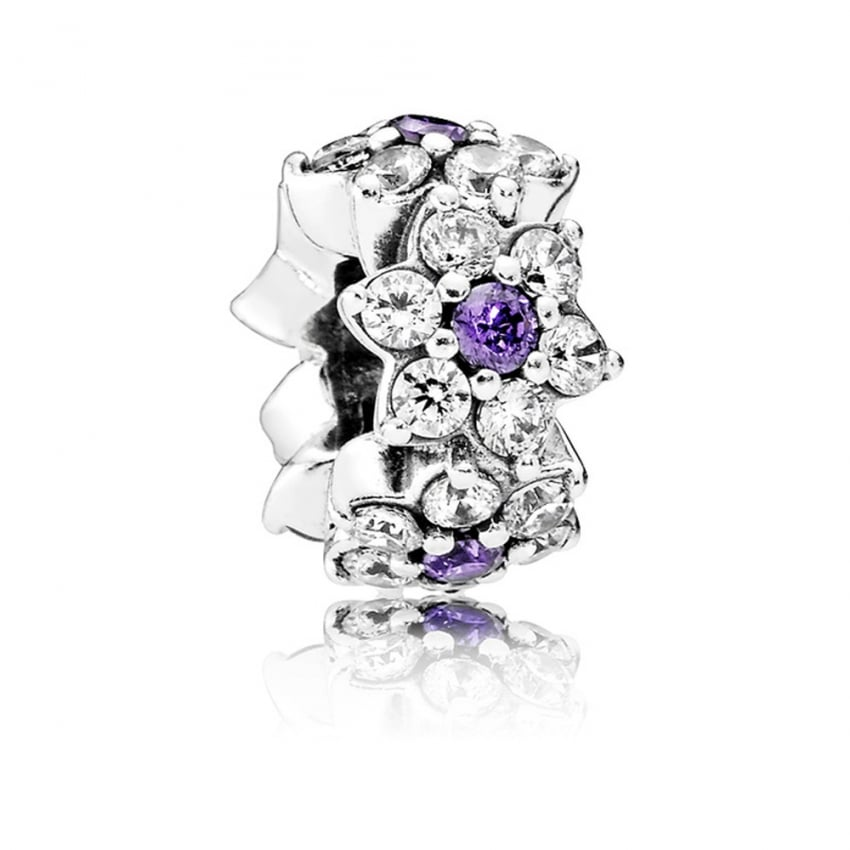 PANDORA Forget Me Not Spacer Charm 791834ACZ