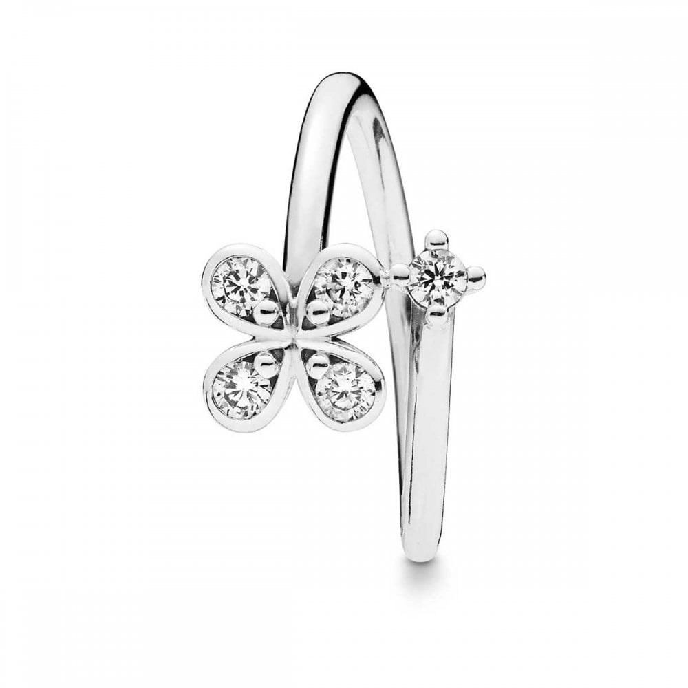 Pandora Four-Petal Flower Ring - Jewellery from Francis & Gaye Jewellers UK