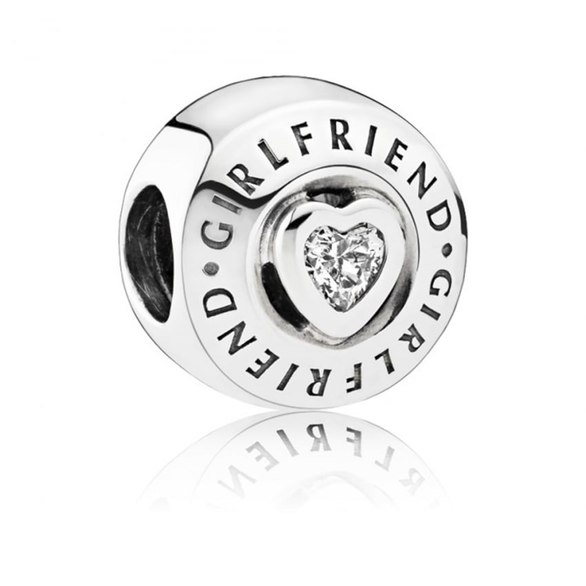 PANDORA Girlfriend Charm 792145CZ