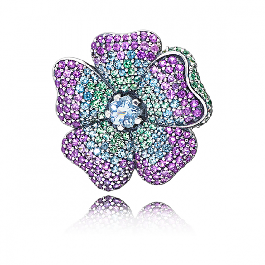 PANDORA Glorious Bloom Pendant and Brooch 397081NRPMX