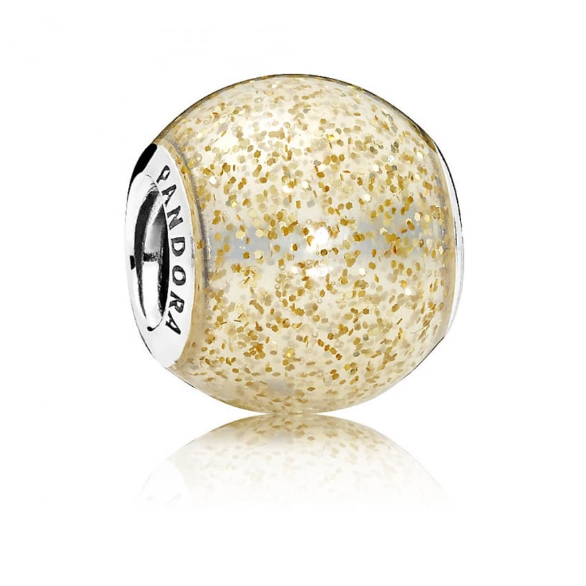 PANDORA Golden Glitter Ball 796327EN146