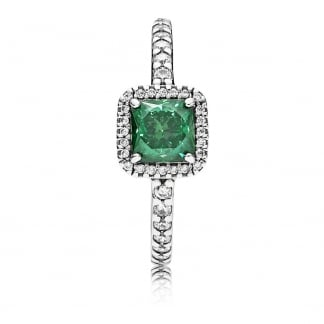 Green Timeless Elegance Ring