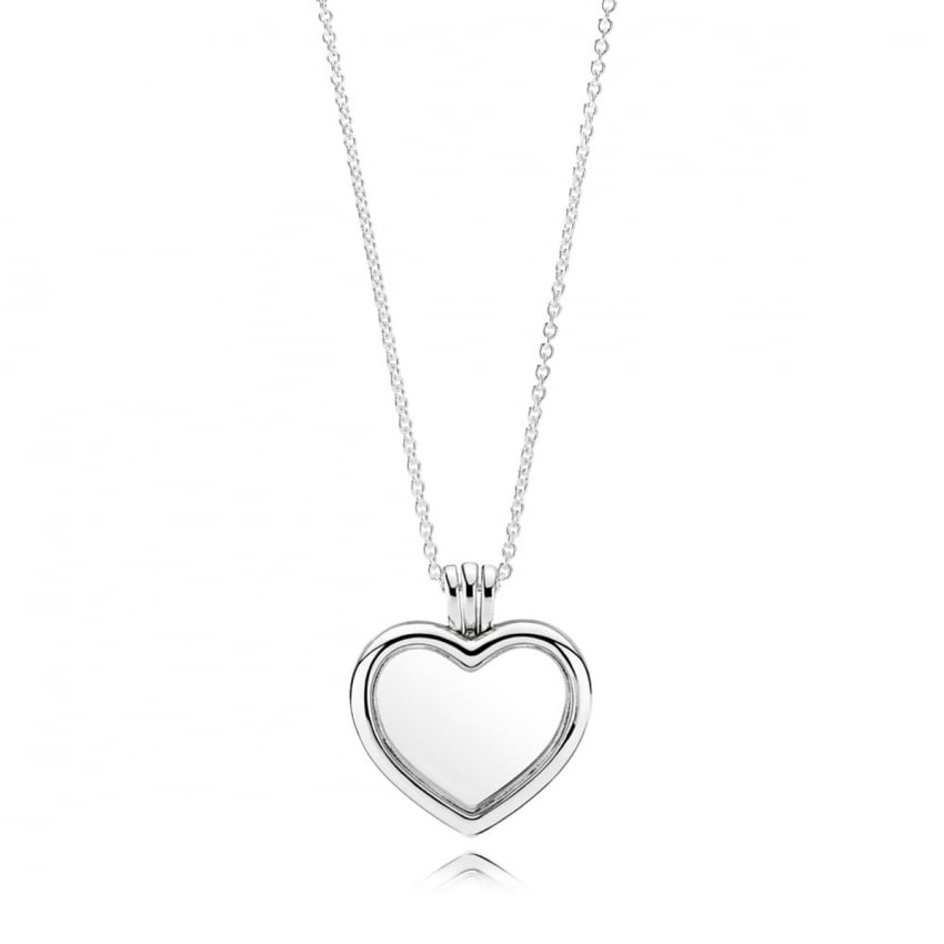 PANDORA Heart Locket Necklace 590544-60