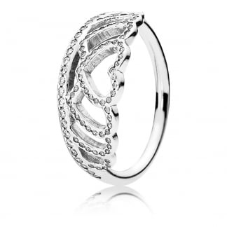 9011c294f Pandora Signature Hearts of PANDORA Ring - Jewellery from Francis ...
