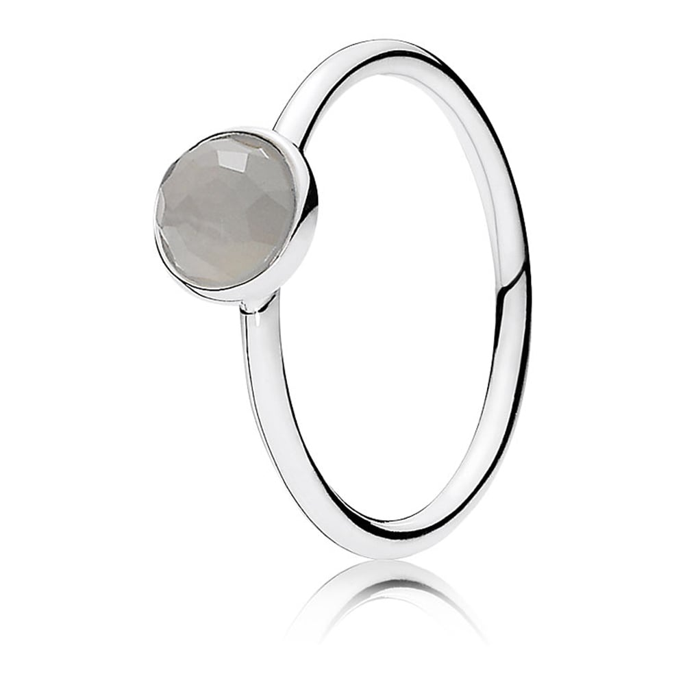 1ba26c43c Pandora June Droplet Birthstone Ring - Jewellery from Francis & Gaye ...