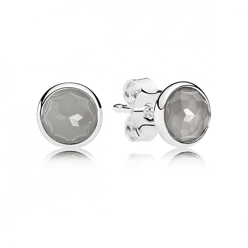 PANDORA June Droplets Stud Earrings 290738MSG