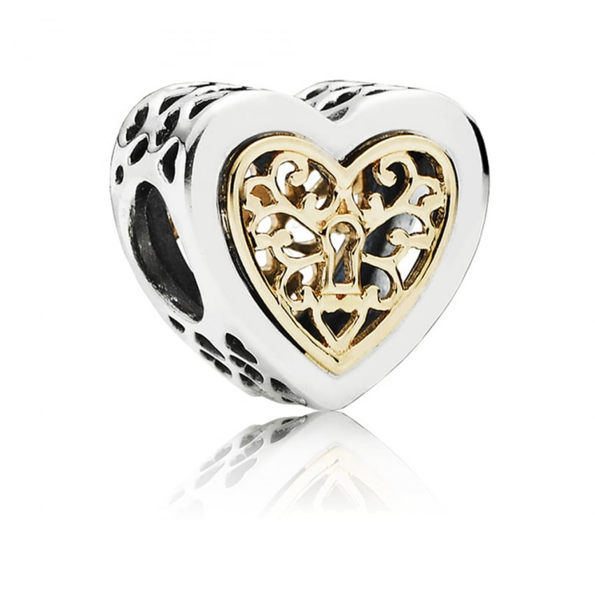 PANDORA Locked Love Openwork Charm 791740