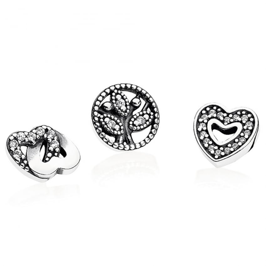 PANDORA Love & Family Petite Locket Charm 792022CZ
