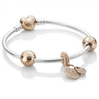 Love Locks Bracelet