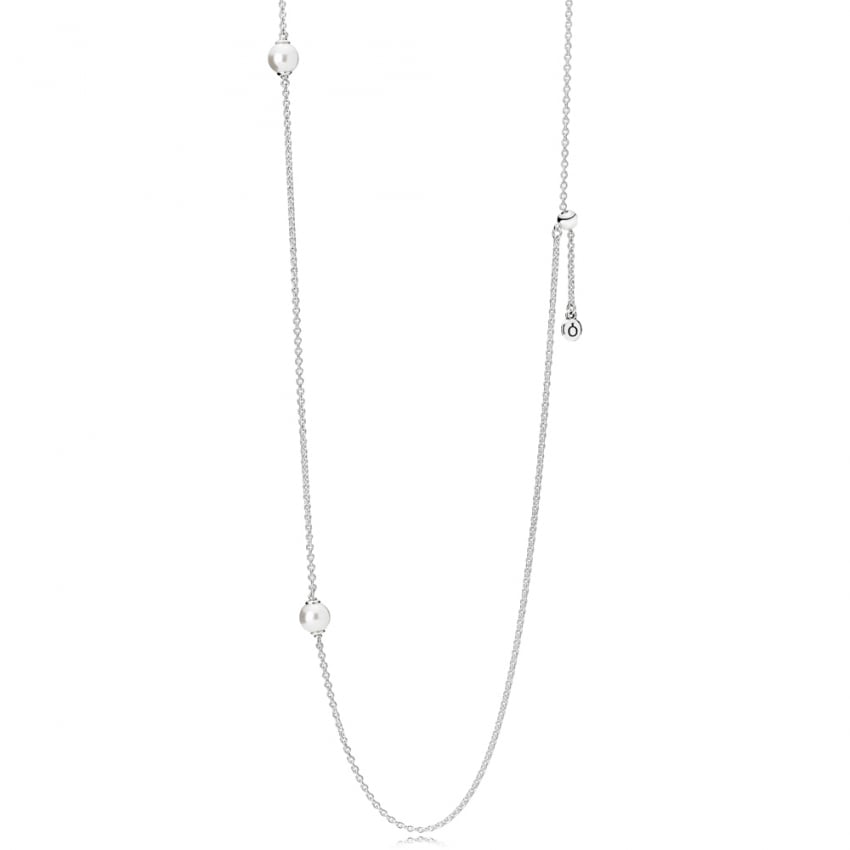 PANDORA Luminous Dainty Droplets Necklace 590539WCP-80