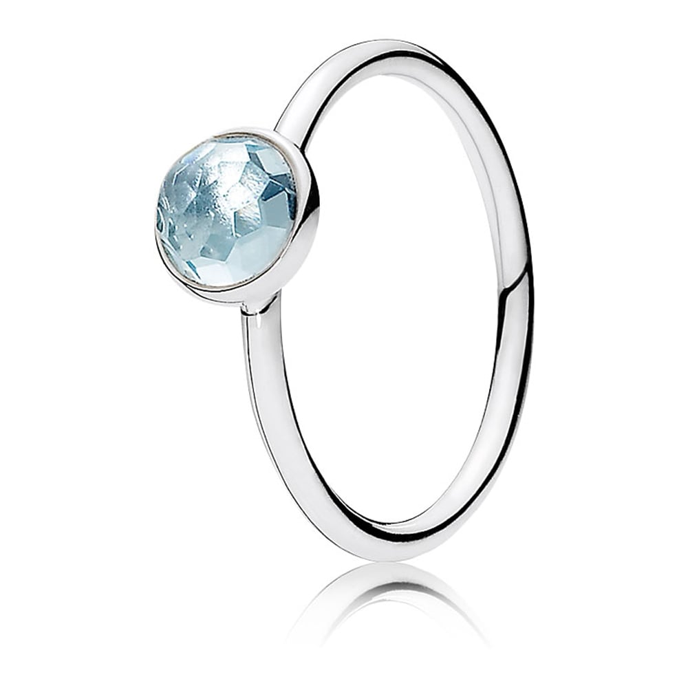 d9ff7869cee95 Pandora March Droplet Birthstone Ring