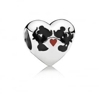 Disney, Minnie & Mickey Kiss Charm