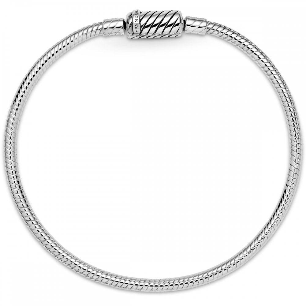 Pandora Pandora Moments Sliding Magnetic Clasp Snake Chain Bracelet