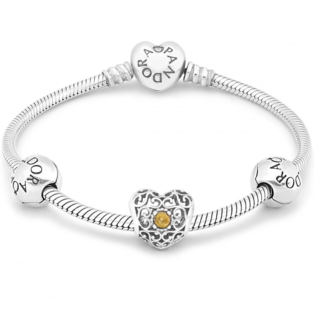 d755cc84f Pandora November Birthstone Bundle - Jewellery from Francis & Gaye ...