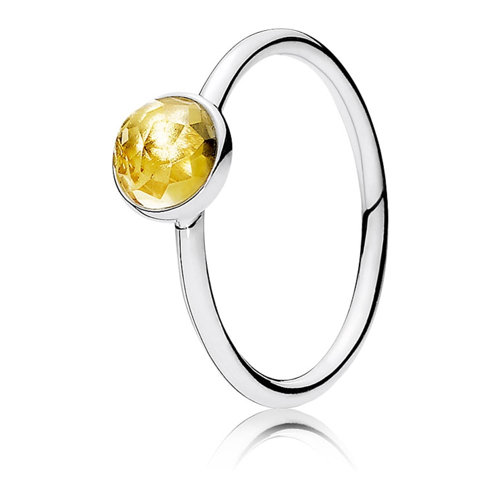 25abece3b Pandora November Droplet Birthstone Ring - Jewellery from Francis ...