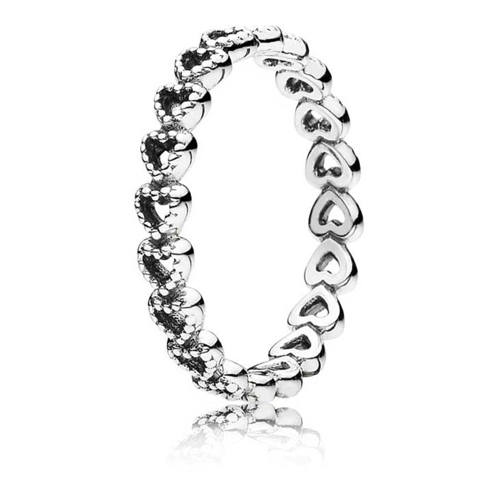 9ed6e13f3 Pandora Openwork Linked Love Ring - Jewellery from Francis & Gaye ...