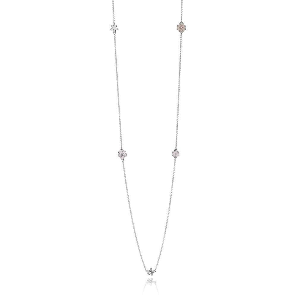 2ca0e17545149 Pandora Poetic Blooms Necklace