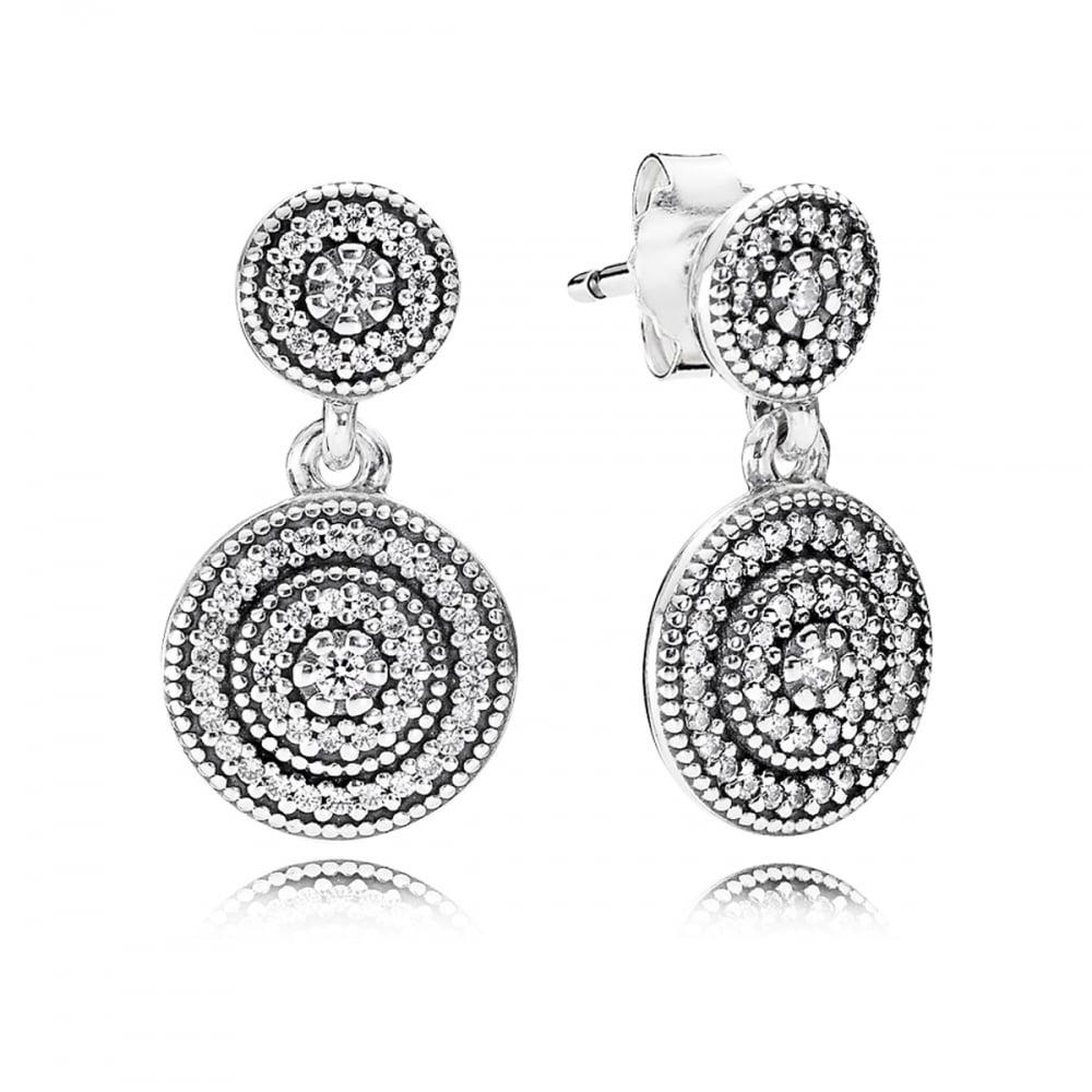253300ea8 Pandora Radiant Elegance Drop Earrings - Jewellery from Francis ...