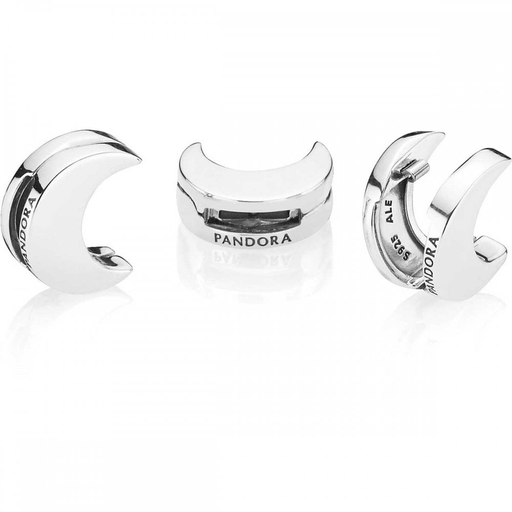 Pandora Reflexions Collection Half Moon Clip Charm