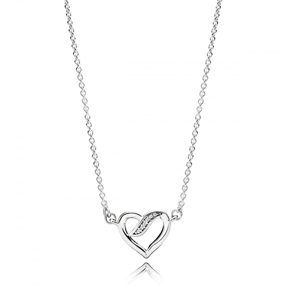 5f6e9cd1d Pandora Ribbons of Love Necklace - Jewellery from Francis & Gaye ...