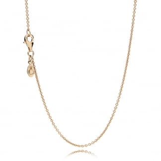 Rose Anchor Chain Necklace