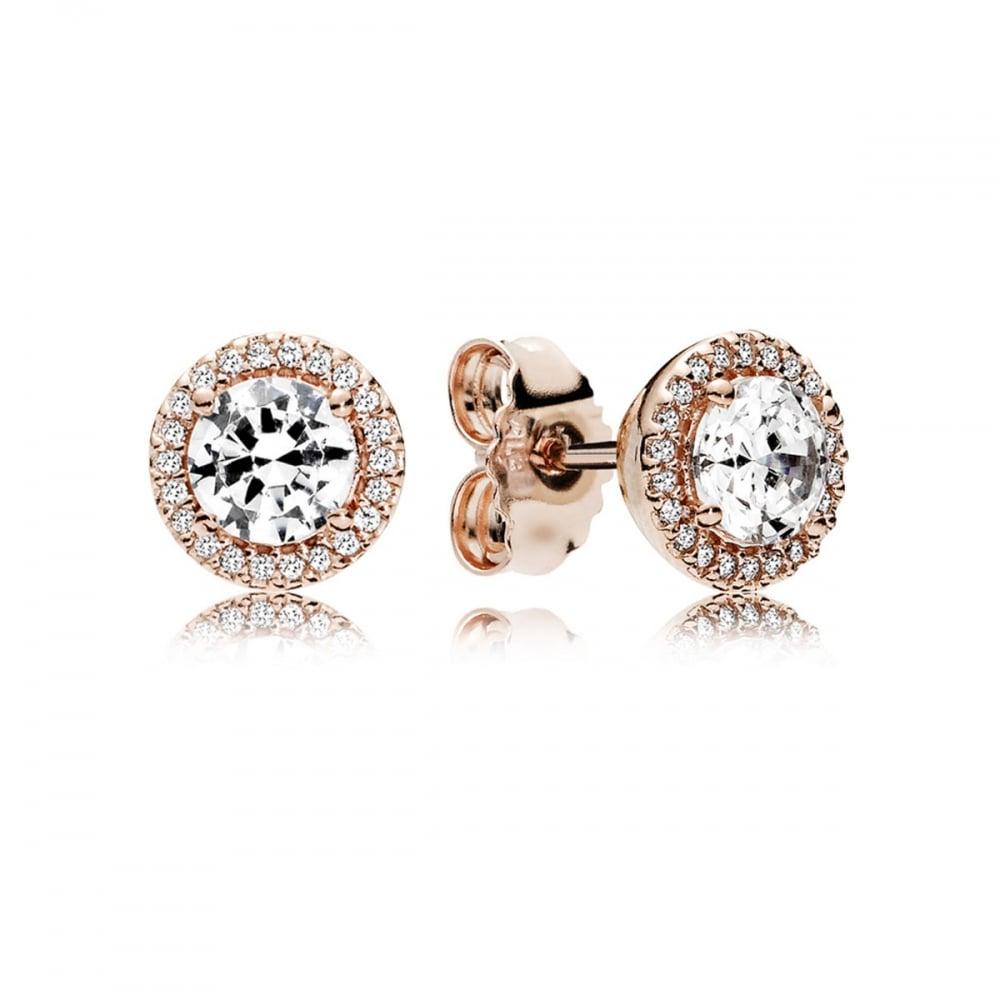 c302ba11c Pandora Rose Classic Elegance Stud Earrings - Jewellery from Francis ...